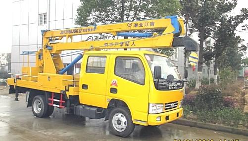 东风16米高空作业车主要用于电气线路检修
