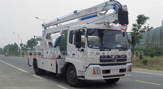 东风天锦plc电气控制接线电路图